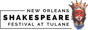 New Orleans Shakespeare Festival at Tulane logo