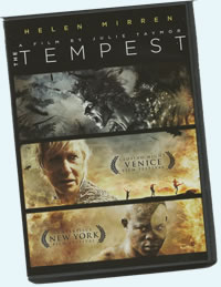 Tempest DVD box cover
